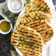 Easy Grilled Flatbread