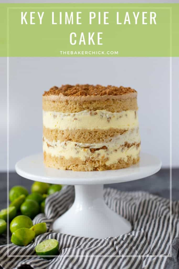 Key Lime Pie Layer Cake- Christina Tosi #milkbar style!
