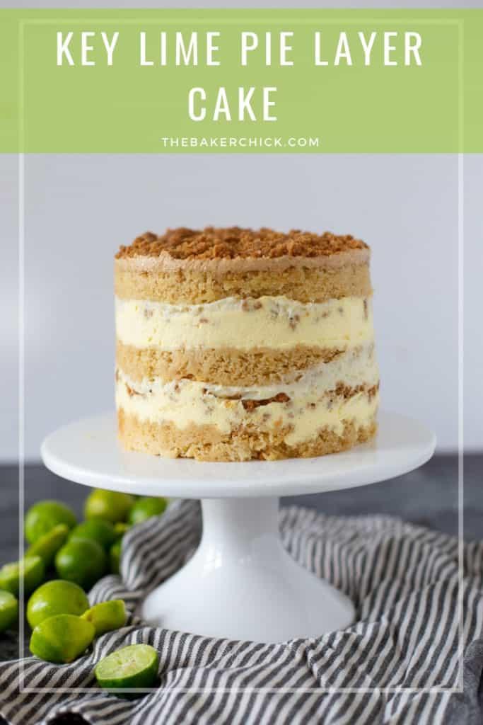 Key Lime Pie Layer Cake- Christina Tosi #milkbar style!