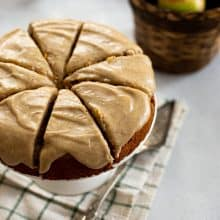 Apple Spice Cake with Brown Butter Glaze
